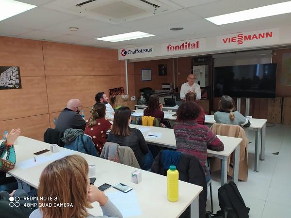Sessió formativa amb la Fundació Hàbitat 3