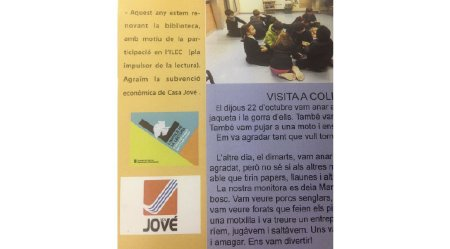 JOVÉ RSC: RENOVACIÓ BIBLIOTECA SAGRAT COR
